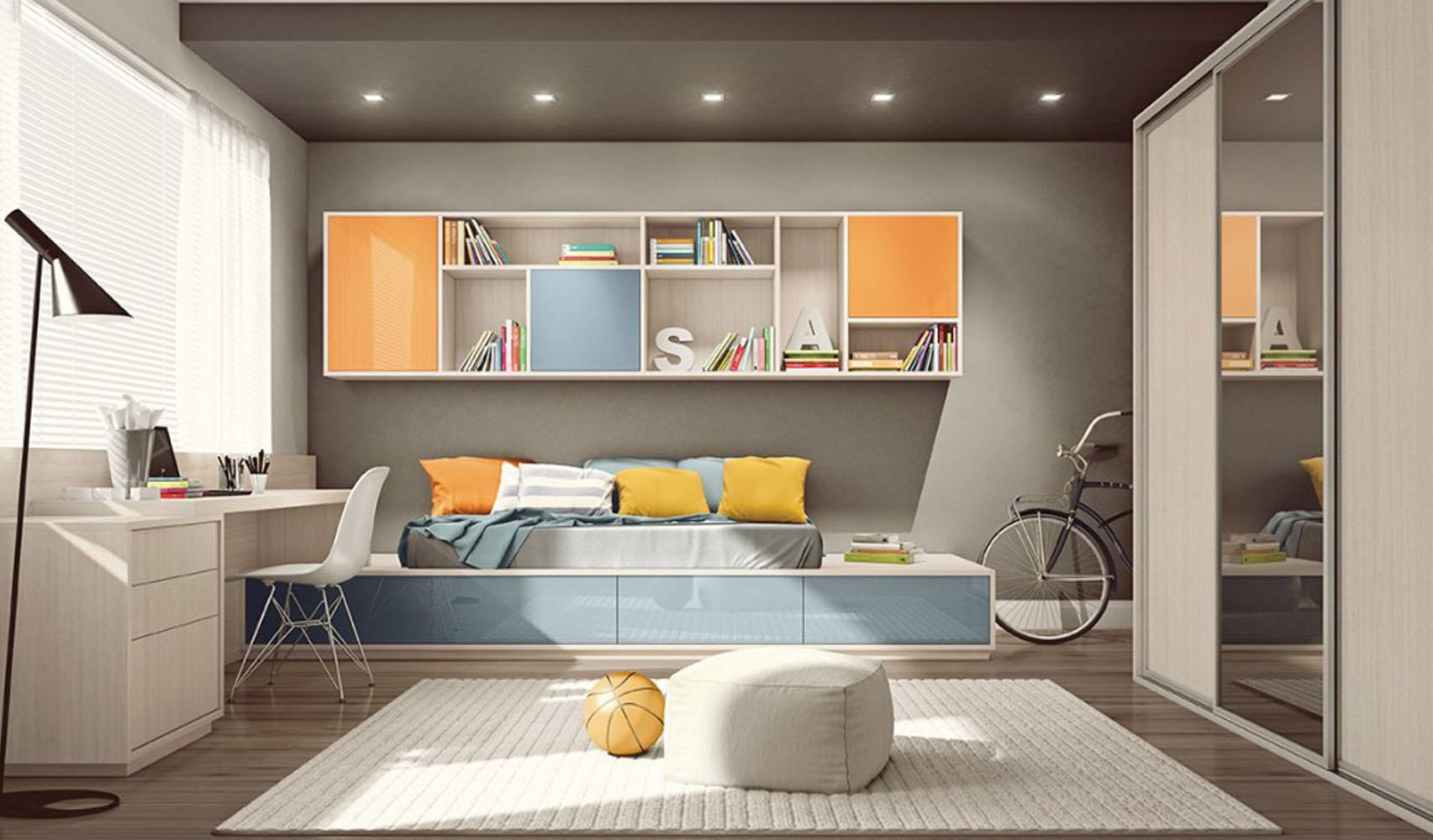 Casa Nostra Interiori Decora O Arquitetura Ambientes  ~ Projeto De Quarto De Solteiro E Quarto Roxo E Verde Agua